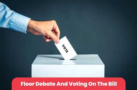Floor Debate And Voting On The Bill