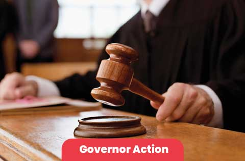 Governor Action